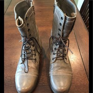 Steve Madden Troopa Lace up Boots